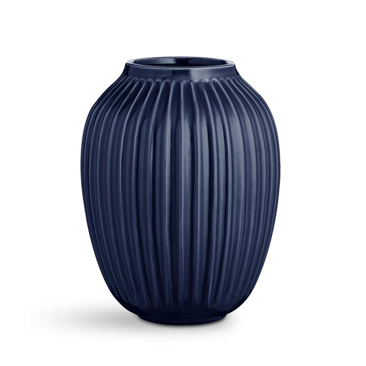 Dark blue Hammershøi vase by Kähler Design