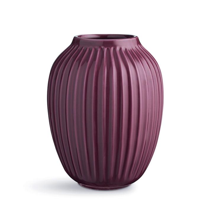 Plum coloured Hammershøi vase by Kähler Design