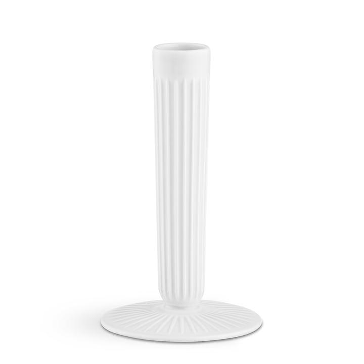 The Kähler Design - Hammershøi Candleholder H 16 cm, white