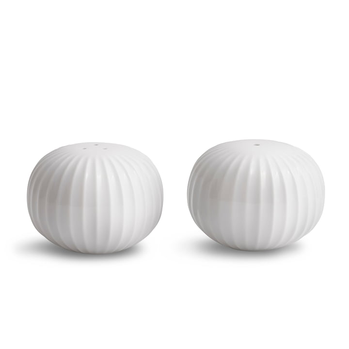 The Kähler Design - Hammershøi Salt and pepper shaker set, white (2 pcs.)