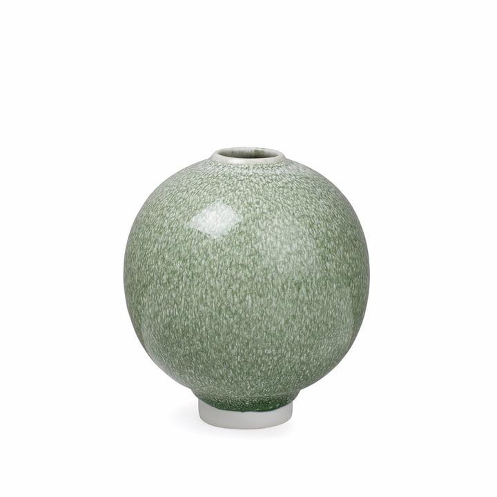 The Kähler Design - Unico Vase H 12,5 cm, moss