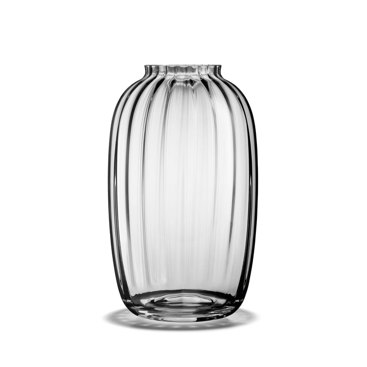 Primula Vase H 25,5 cm in clear from Holmegaard