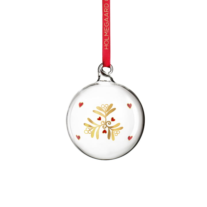 Christmas Bauble by Holmegaard, Transparent