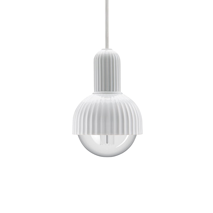 LP Fitting #02 Pendant light in white from Lyngby Porcelæn