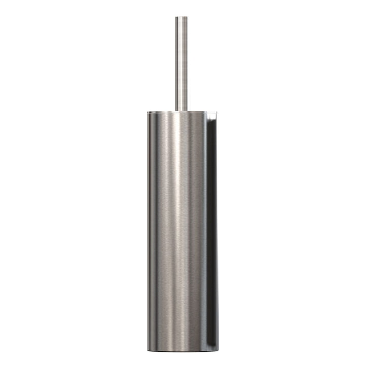 Nova 2 WC brush freestanding in brushed stainless steel from Frost