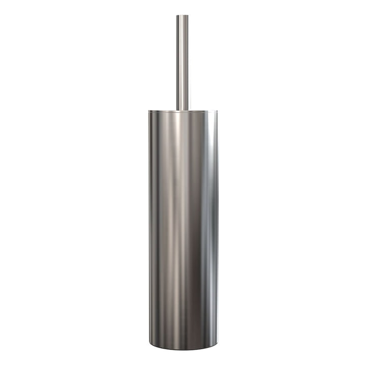 Nova 2 Toilet Brush Freestanding, Polished Stainless Steel by Frost