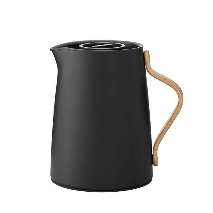 Emma tea vacuum jug 1 l from Stelton in matt black