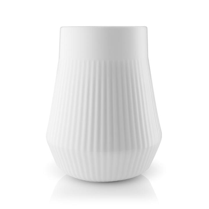 Legio Nova Vase Large, H 21.5 cm in White by Eva Trio