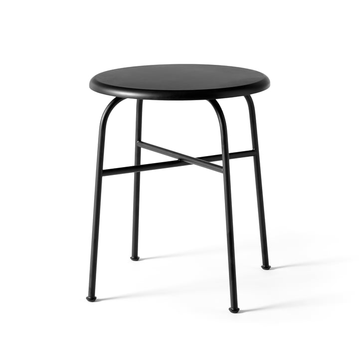Afteroom stool from Menu in black