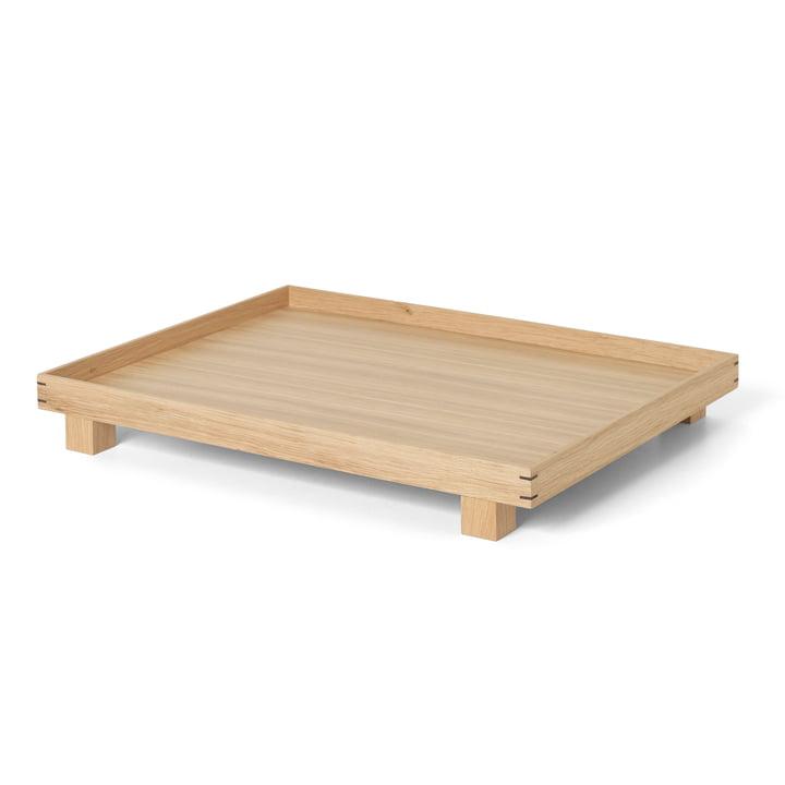 Bon Wooden tray large by ferm Living in oak