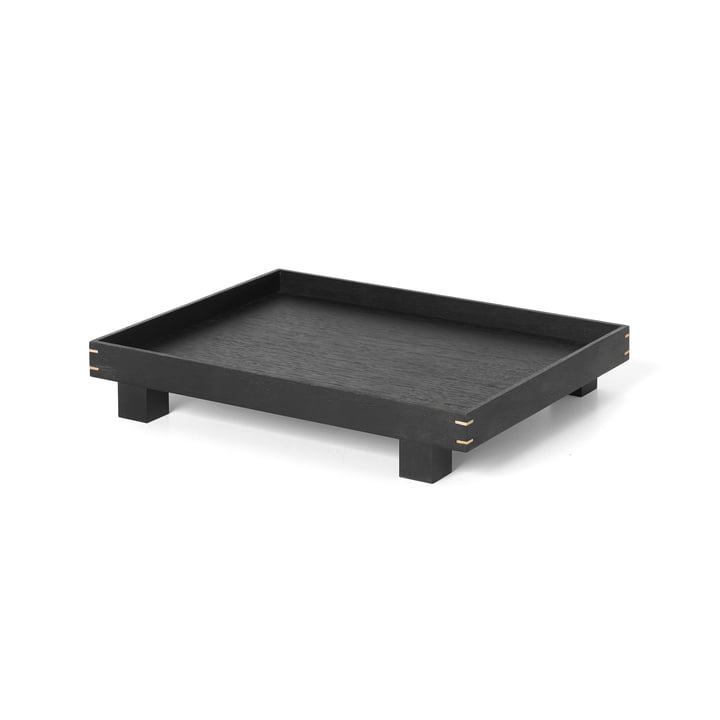 Bon Wooden tray small from ferm Living in black