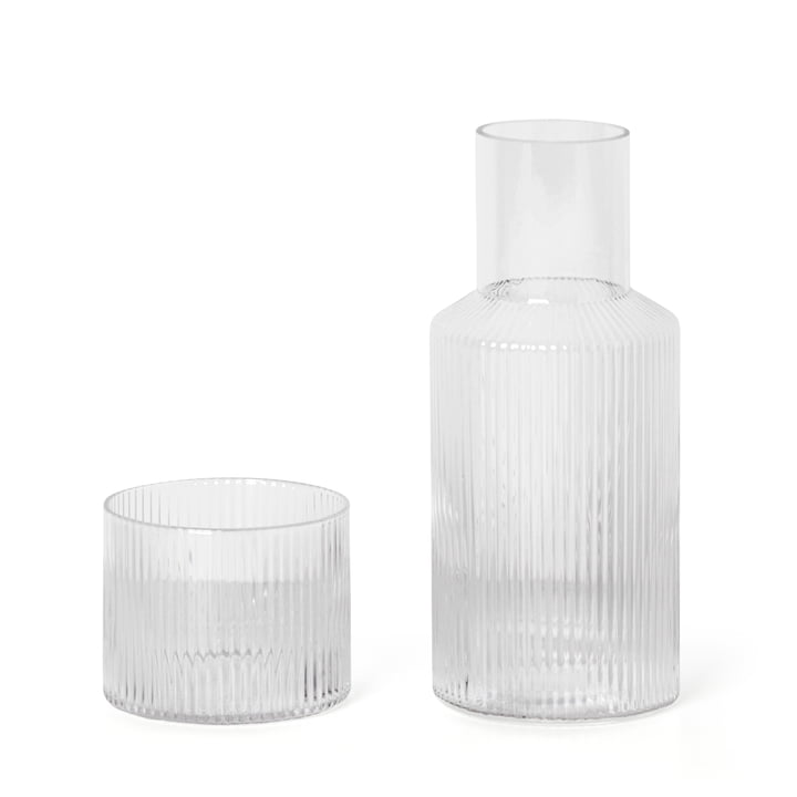 Ripple carafe set by ferm Living in small