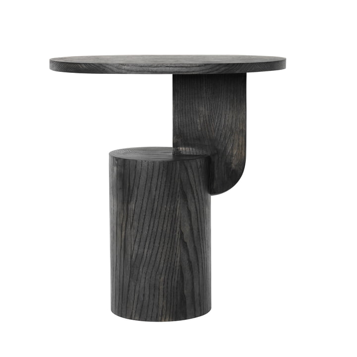 Insert Side Table by ferm Living in stained black ash