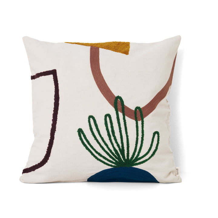 Mirage cushion 50 x 50 cm Cacti by ferm Living