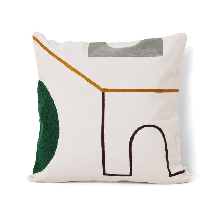 Mirage Cushion 50 x 50 cm Gate by ferm Living