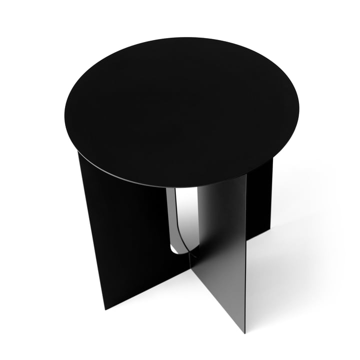 Androgyne side table Base from Menu in black