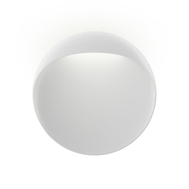 Flindt wall lamp Ø 30 cm, white by Louis Poulsen
