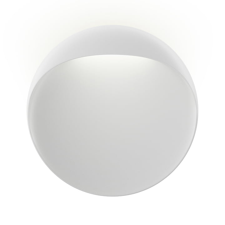 Flindt wall lamp Ø 40 cm, white by Louis Poulsen