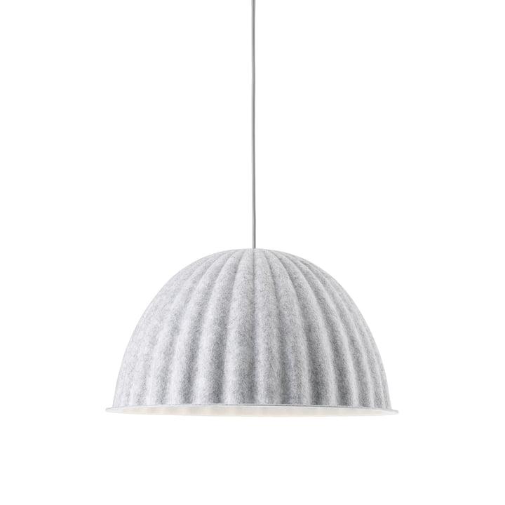 Under the Bell pendant lamp Ø 55 cm from Muuto in white melange