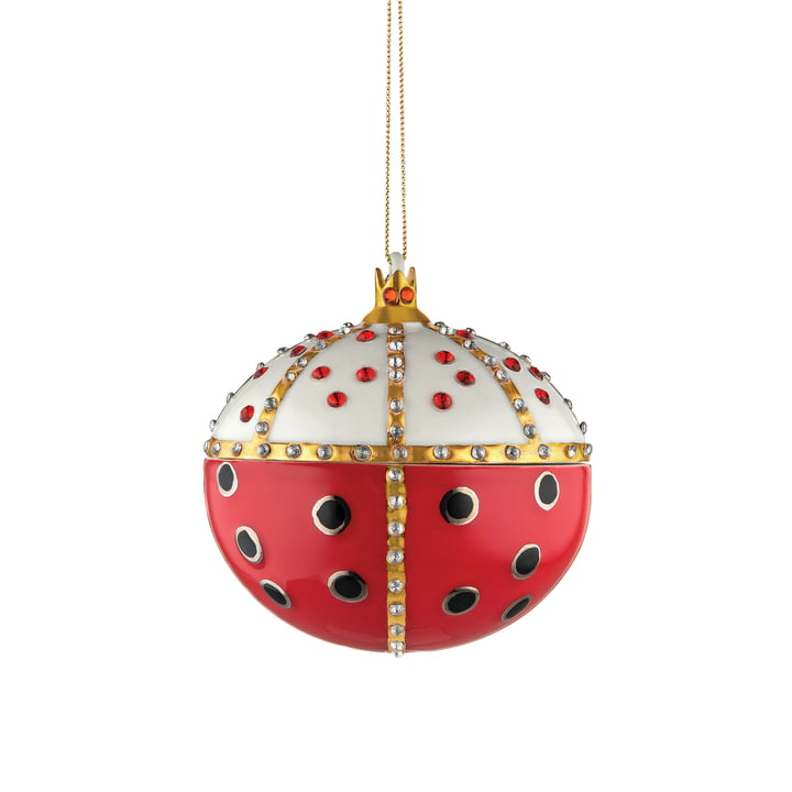 Fleurs de Jori deco ball from Alessi - Re Coccinello (MJ16 8)