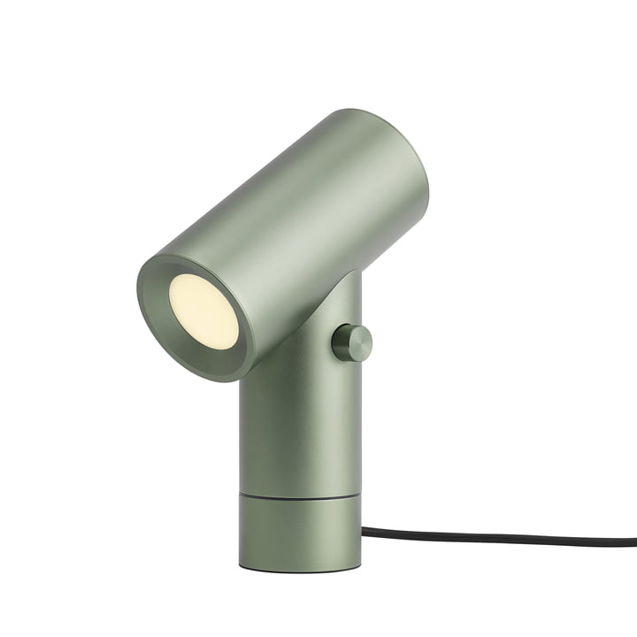 Beam LED table lamp by Muuto in green