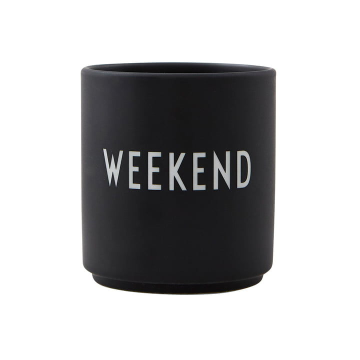 AJ Favourite Porcelain Cup Weekend by Design Letters