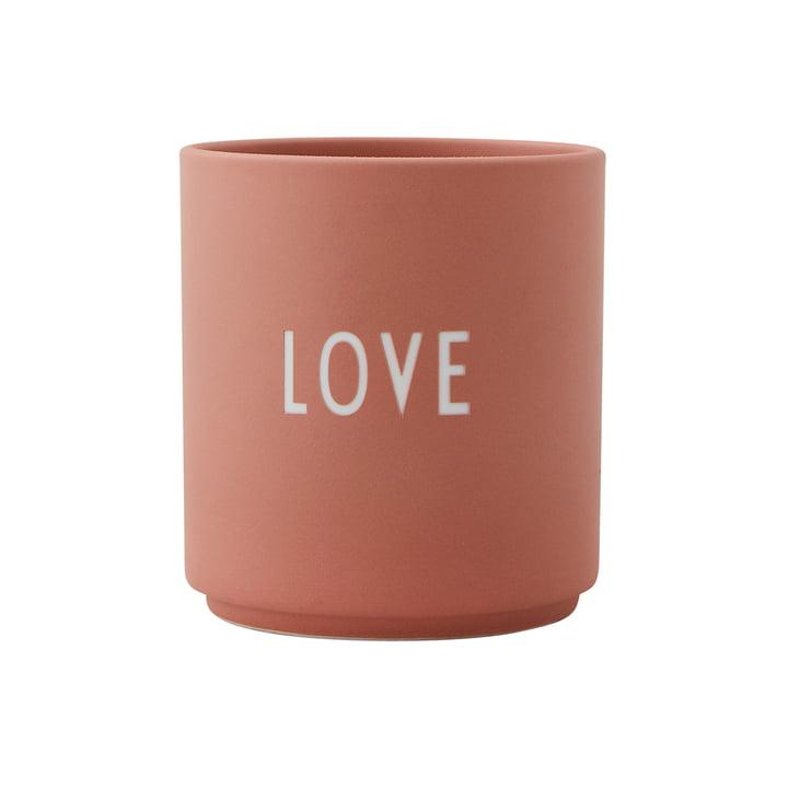 AJ Favourite Porcelain Cup, Smile by Design Letters