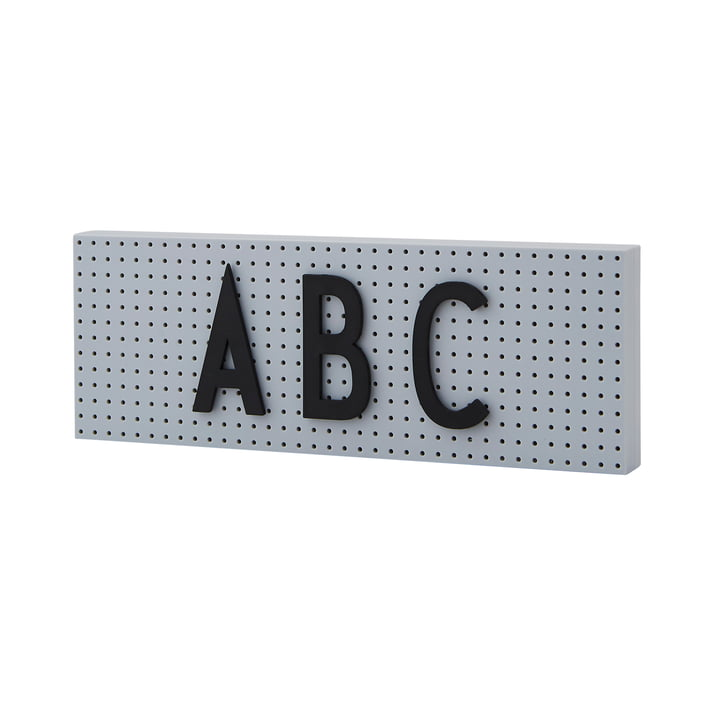 The Sign Message board small from Design Letters in grey