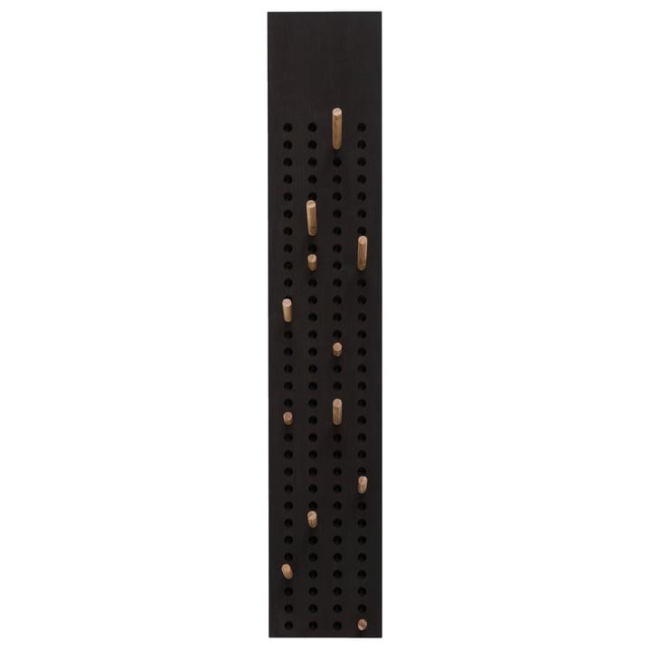 Scoreboard wardrobe vertical by We Do Wood in bamboo dark