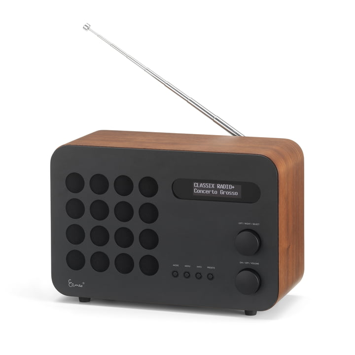 Eames Radio by Vitra in walnut / black (Limited Edition)