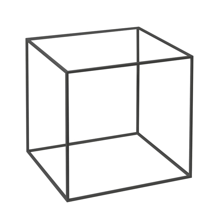 Frame for Twin 42 Side Table from by Lassen in Black