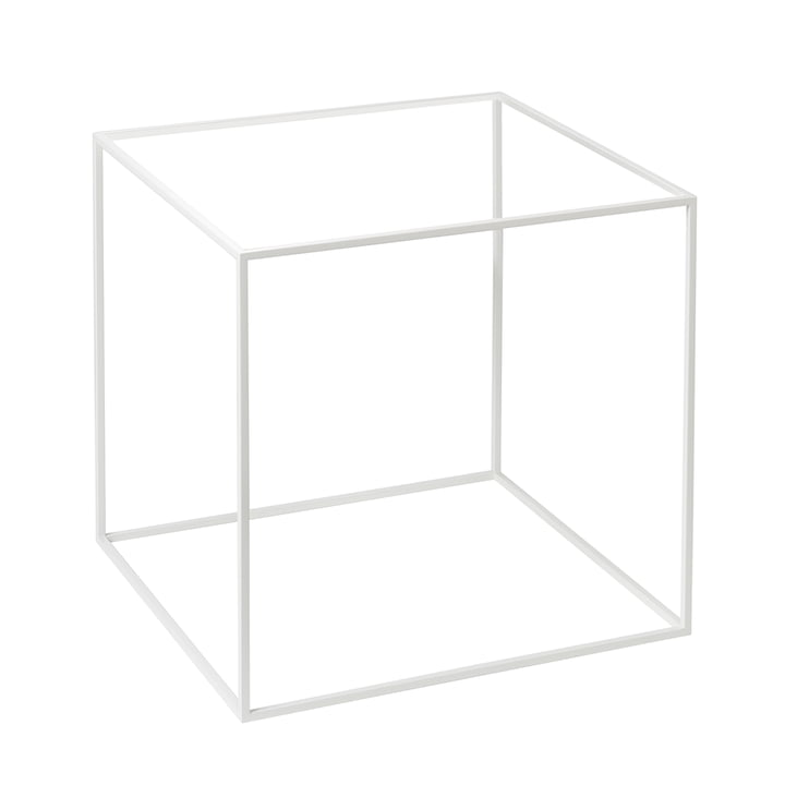 Frame for Twin 42 Side Table from by Lassen in White