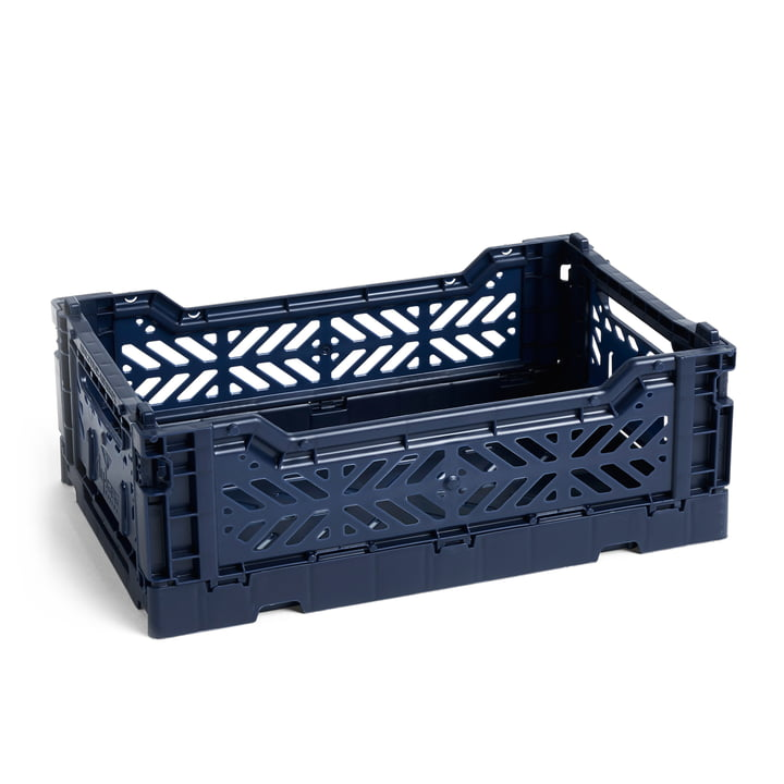 Colour Crate Basket S, 26,5 x 17 cm in Navy