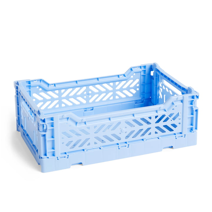 Colour Crate Basket S, 26,5 x 17 cm in Light Blue