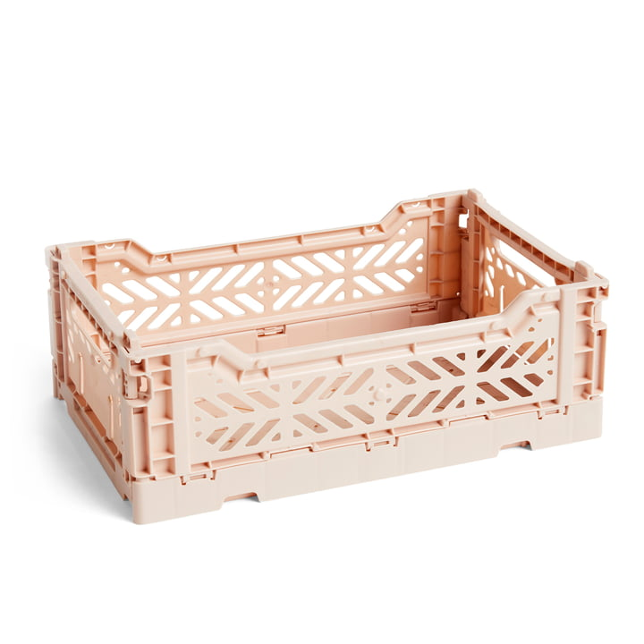 Colour Crate Basket S, 26,5 x 17 cm in Nude