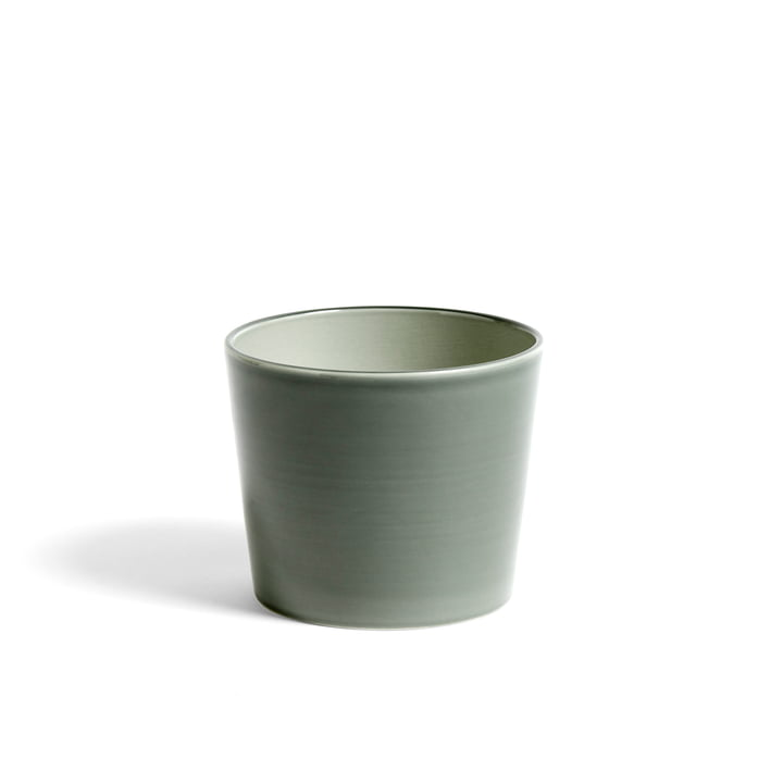 Botanical Family Planter M by Hay in Dusty Green