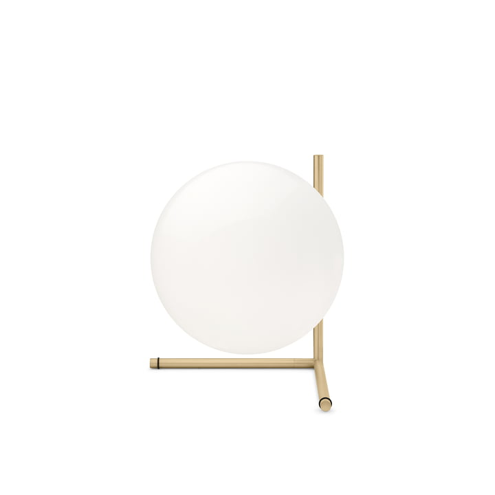 IC T2 table lamp by Flos made of brass