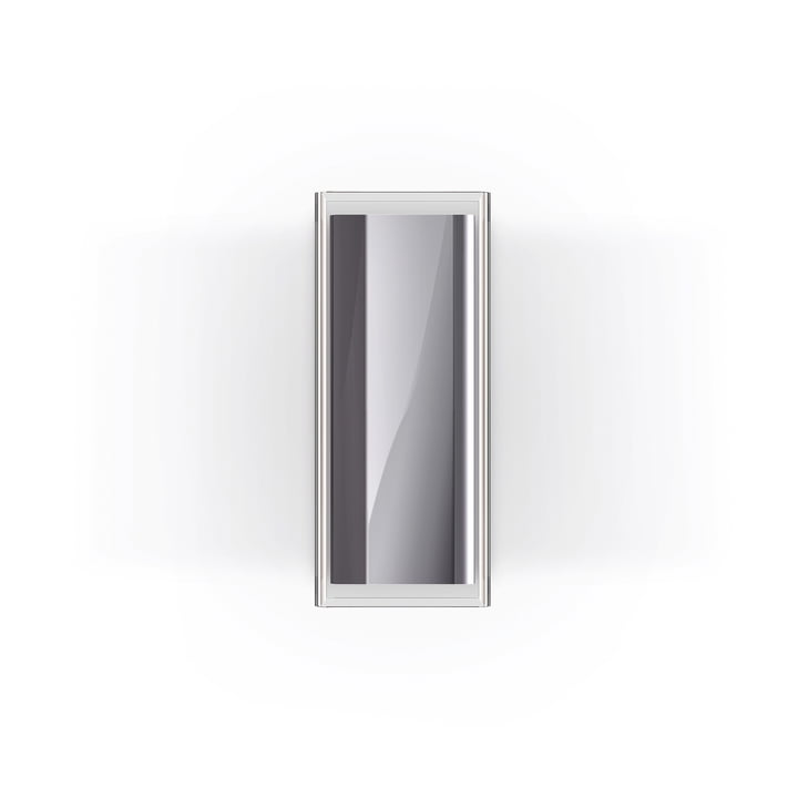 Rod LED wall lamp by serien.lighting in polished aluminium