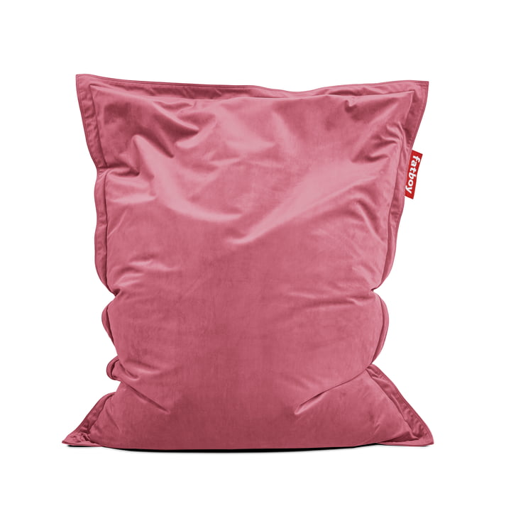 Beanbag Original Slim Velvet by Fatboy in antique pink
