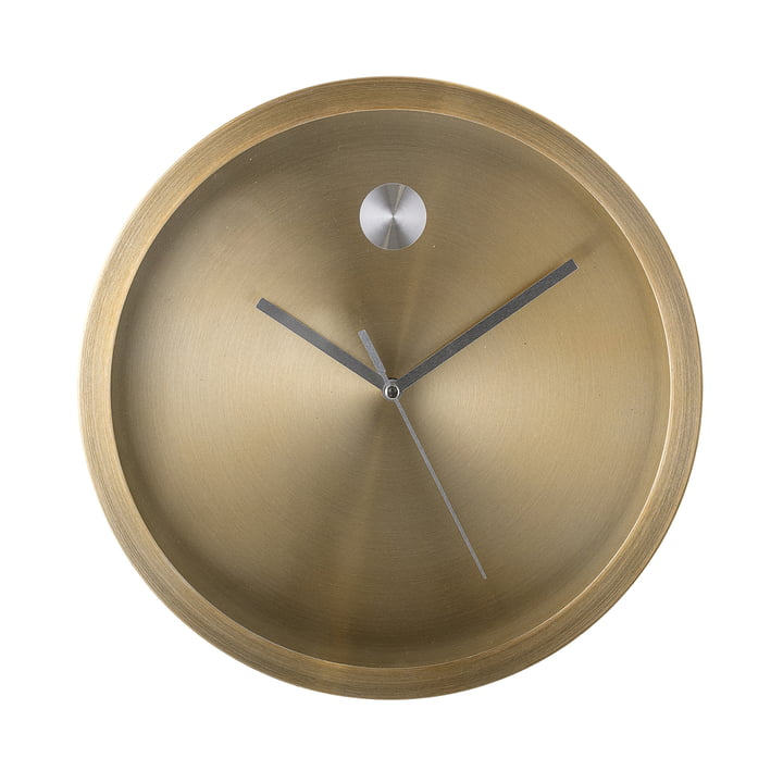 Wall clock Ø 25 cm from Bloomingville - gold