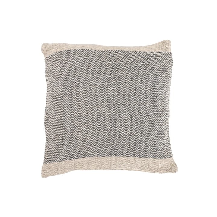 Cotton cushion from Bloomingville - 45 x 45 cm in grey