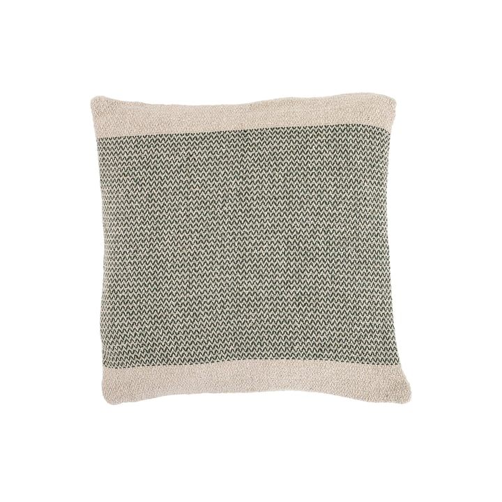 Cotton cushion from Bloomingville - 45 x 45 cm in green