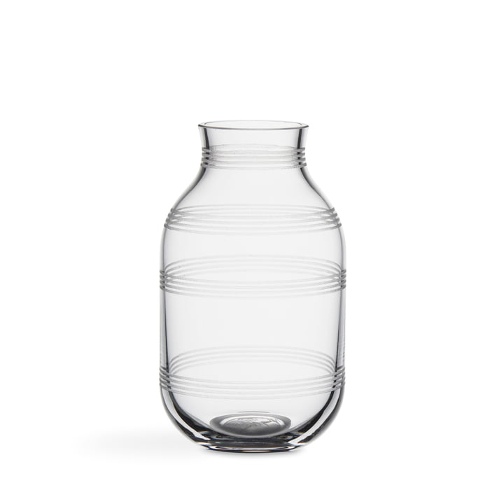 Omaggio Glass Vase by Kähler Design in clear