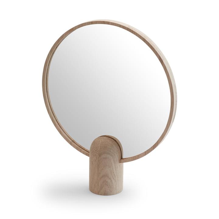 Aino mirror large from Skagerak in oak
