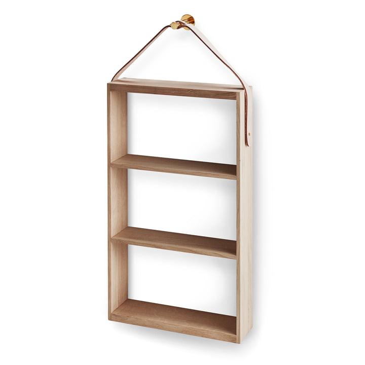 Norr shelf from Skagerak in oak / brass
