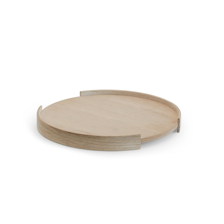Opening tray Ø 28 cm from Skagerak in oak wood
