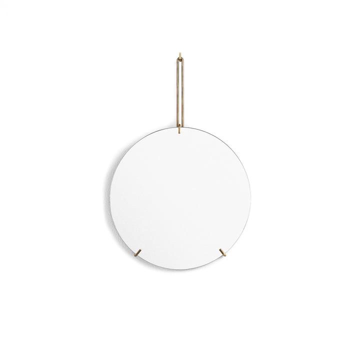 wall mirror Ø 30 cm from Moebe in brass