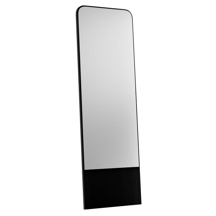 Friedrich mirror from Objekte unserer Tage - 60 x 185 cm, black