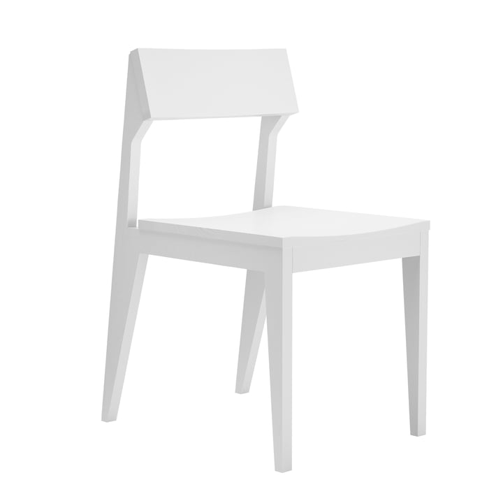 Schulz Chair by Objekte unserer Tage - white