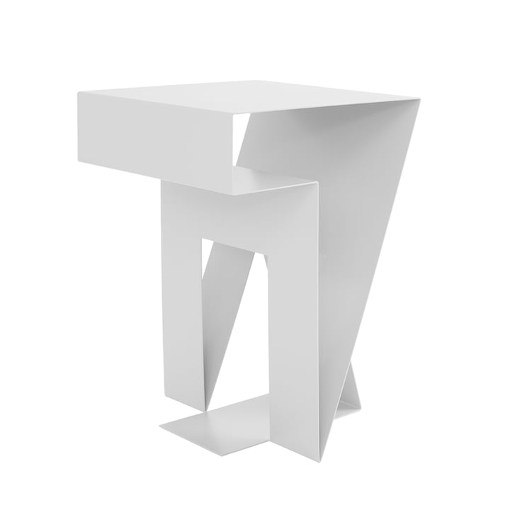 Neumann side table from Objekte unserer Tage in white